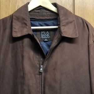 Jos. A. Bank Suede Jacket